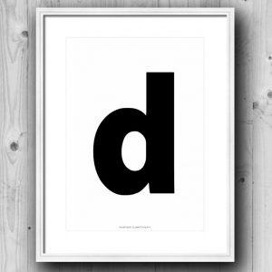 Aakkosjuliste D