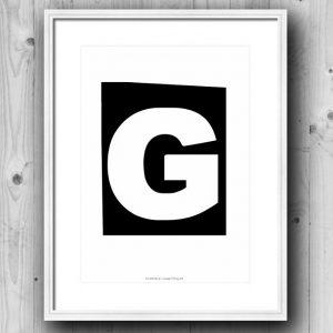 Aakkosjuliste G