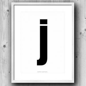 Aakkosjuliste J