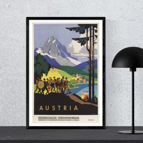VINTAGEJULISTE-MATKAILU-AUSTRIA-42X622