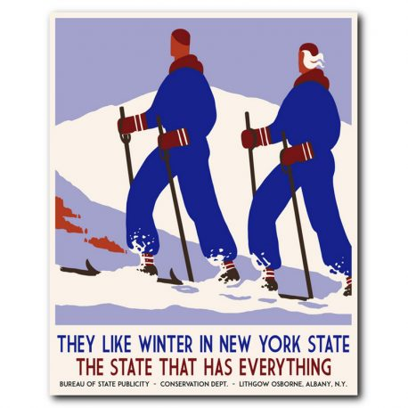 VINTAGEJULISTE-MATKAILU-NEW-YORK-STATE-42X52-3