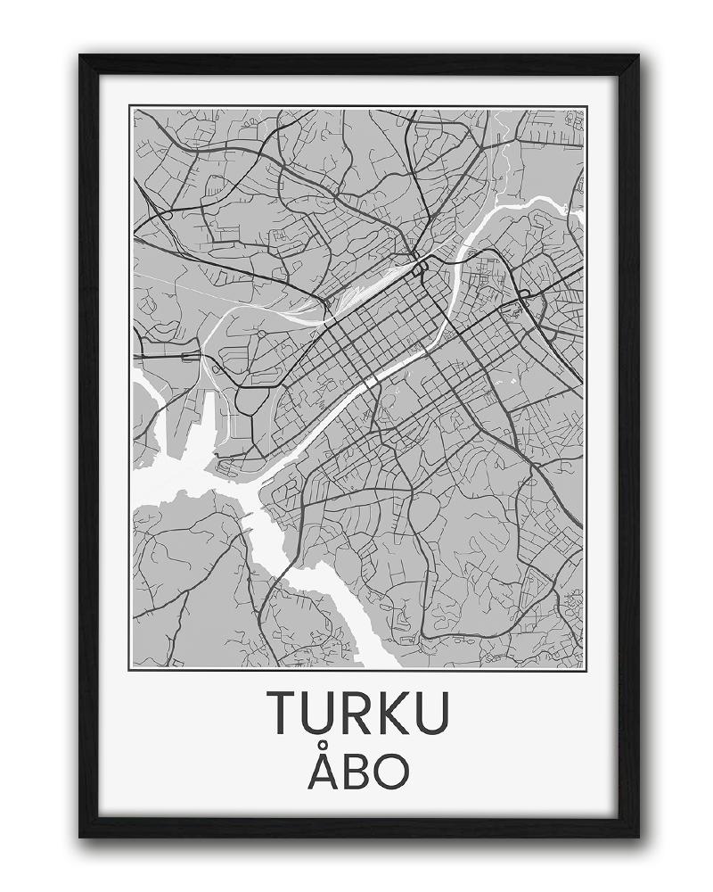 Turku Karttajuliste