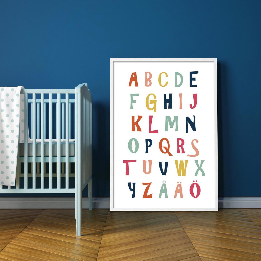 Lastenhuone-Aakkosjuliste-70×100-10