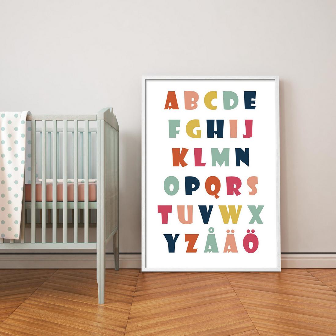 Lastenhuone-Aakkosjuliste-70×100-5