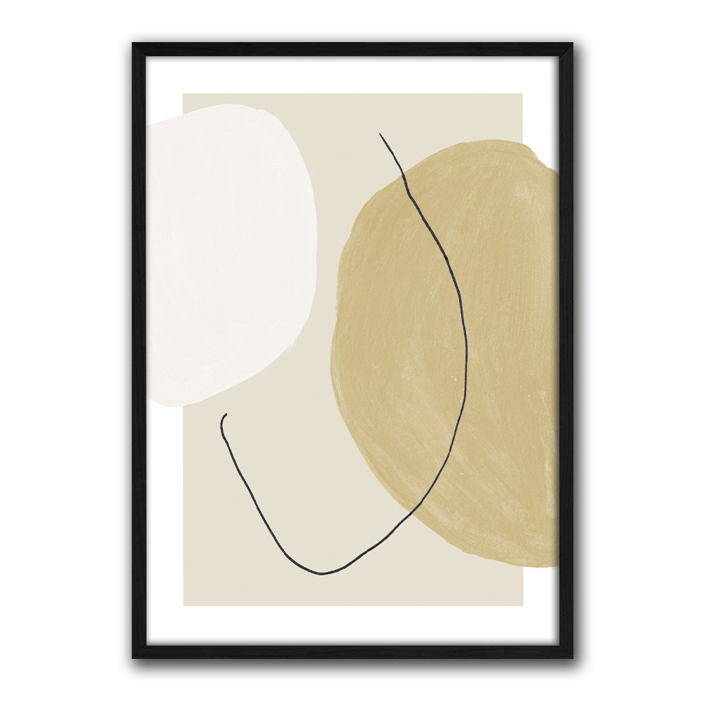 Juliste Abstract Shapes Composition 2-4