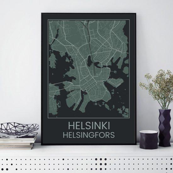 Helsinki juliste Lasse Örling 50x70 etusivu